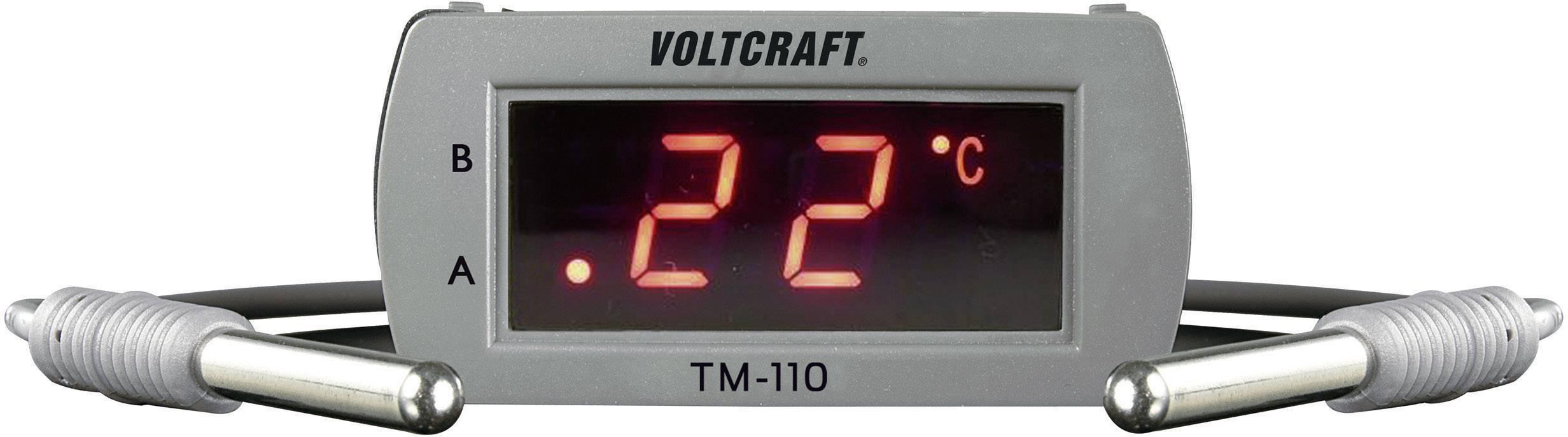 Panelový teplotní LED modul Voltcraft TM-110, 58 x 26 mm, -49 až 99 °C