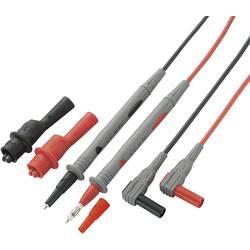 Sada měřicích kabelů Voltcraft MS-4, banánek 4 mm ⇔ měřící hrot, černá/červená, 1,2 m