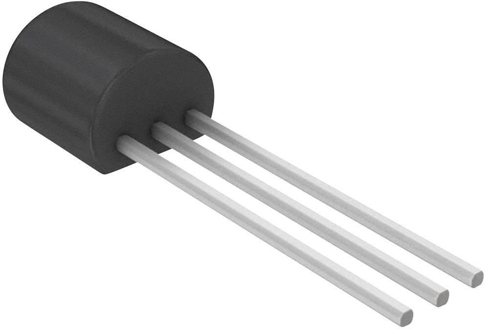 Lineární IO - teplotní senzor a měnič Microchip Technology MCP9701-E/TO, TO-92-3