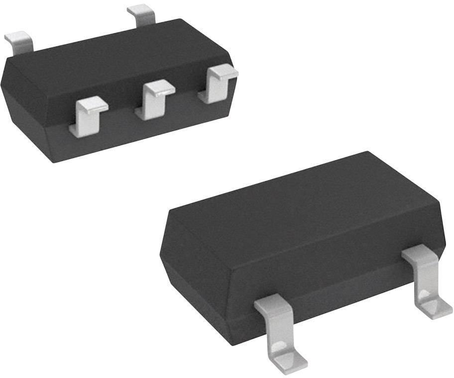 Lineární IO - teplotní senzor a měnič Microchip Technology TC74A5-5.0VCTTR, SOT-23A-5