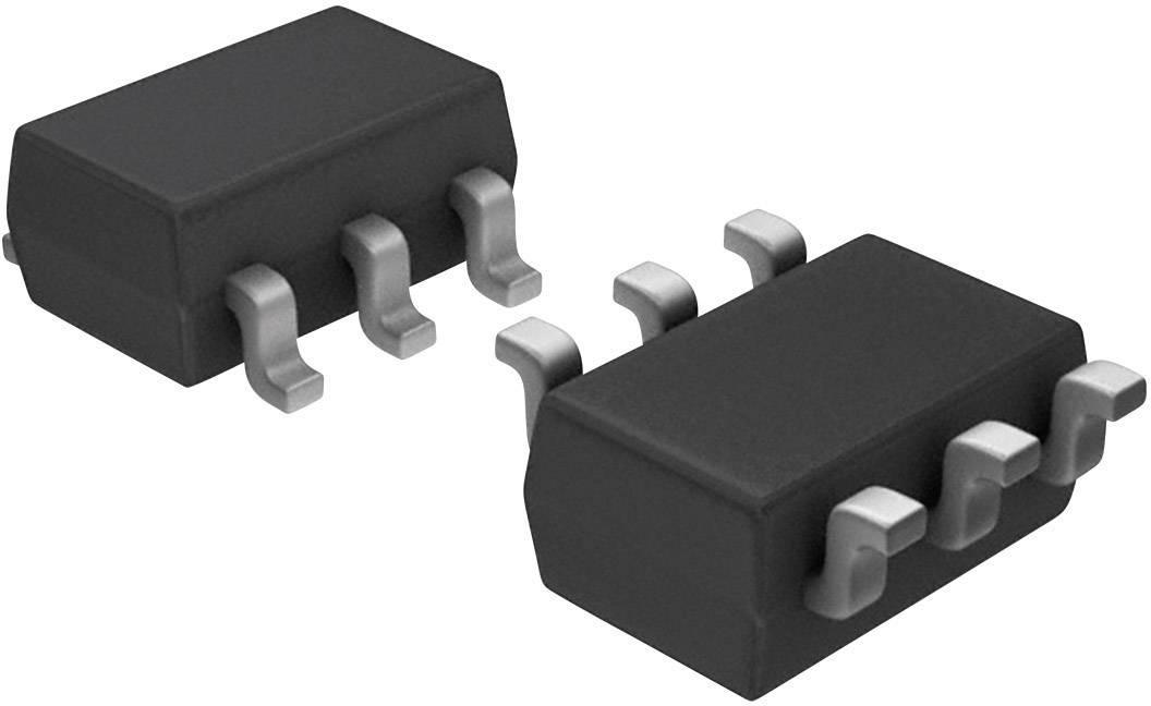 PMIC monitorování Microchip Technology TC54VC4502ECB713 jednoduché resetování / resetování při zapnutí SOT-23A-3