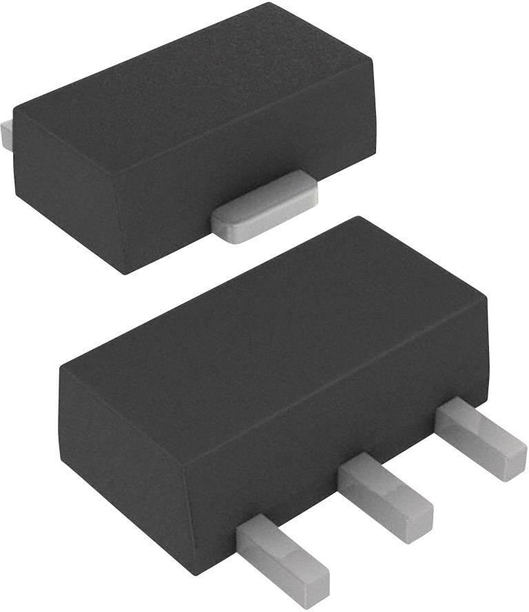 Tranzistor MOSFET DIODES Incorporated ZXMN10A07ZTA, 1 N-kanál, 1.5 W, SOT-89-3
