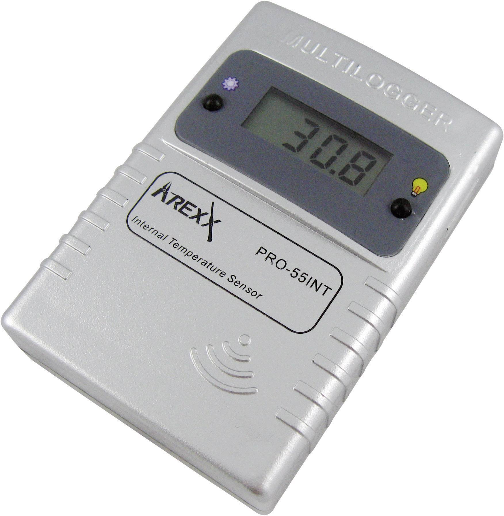 Teplotný datalogger Arexx PRO-55int, -55 až +125 °C