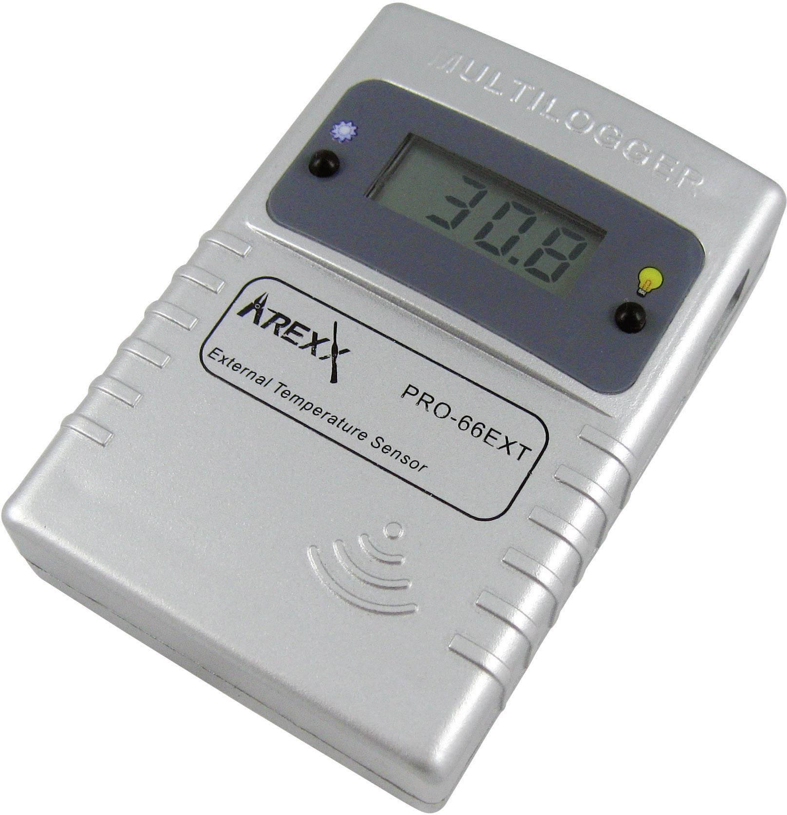 Teplotný datalogger Arexx PRO-66ext, -55 až +125 °C