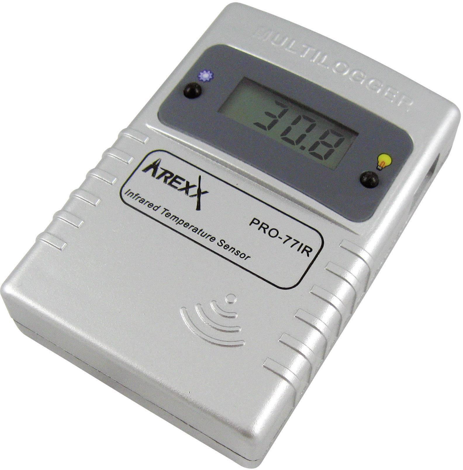 Teplotný datalogger Arexx PRO-77ir, -40 až +380 °C
