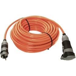 Prodlužovací kabel AS Schwabe, 25 m, 2,5 mm², oranžová