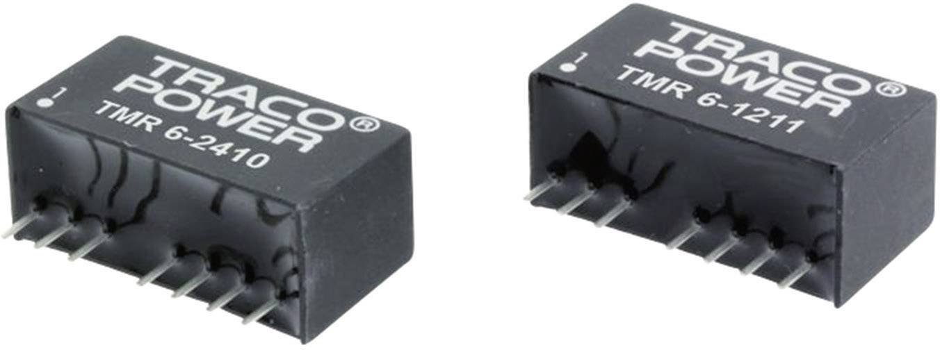 DC/DC měnič TracoPower TMR 6-1211, SIL-8, 1,2 A, 12 V/DC / 5 V/DC, 6 W, 83 %