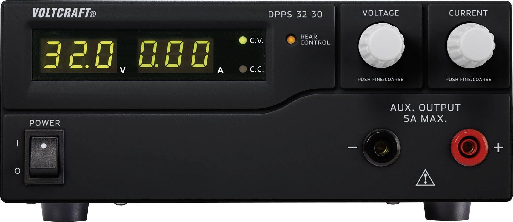 Spínaný laboratórny zdroj Voltcraft DPPS-32-30, 1 - 32 V/DC, 30 A