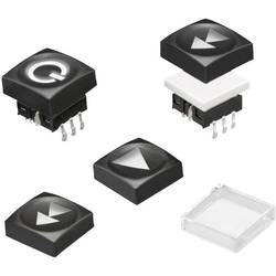 Krytka tlačítka Würth Elektronik 714401002, černá