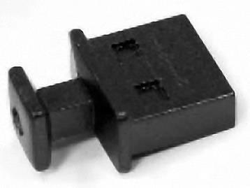 USB záslepka Würth Elektronik 726141002, zásuvka Typ A, černá
