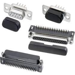 D-SUB krytka pro D-SUB zásuvka 15pólová Würth Elektronik WA-PCCA, 726181101, 1 ks