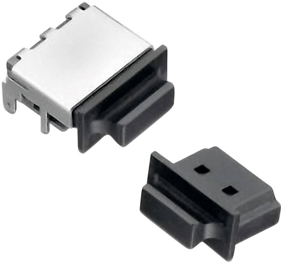 Záslepka Würth Elektronik 726851001, čierna, 1 ks