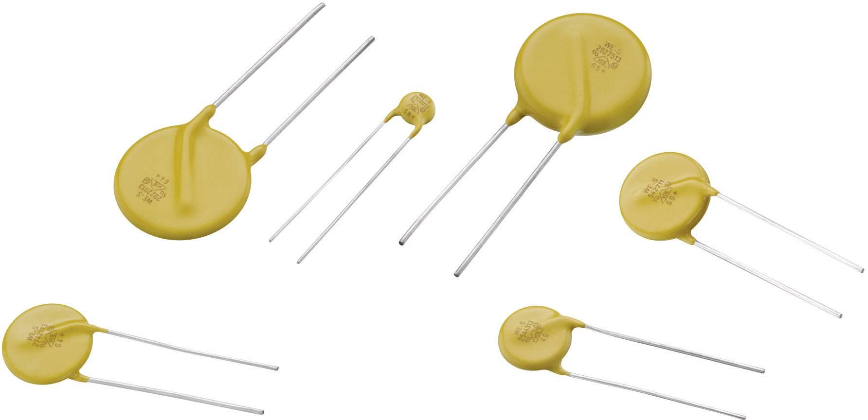 Diskový varistor Würth Elektronik 820422711, 275 V