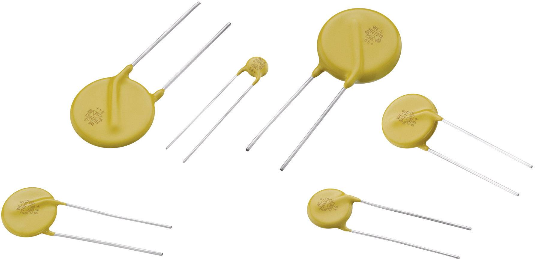 Diskový varistor Würth Elektronik 820512001, 20 V