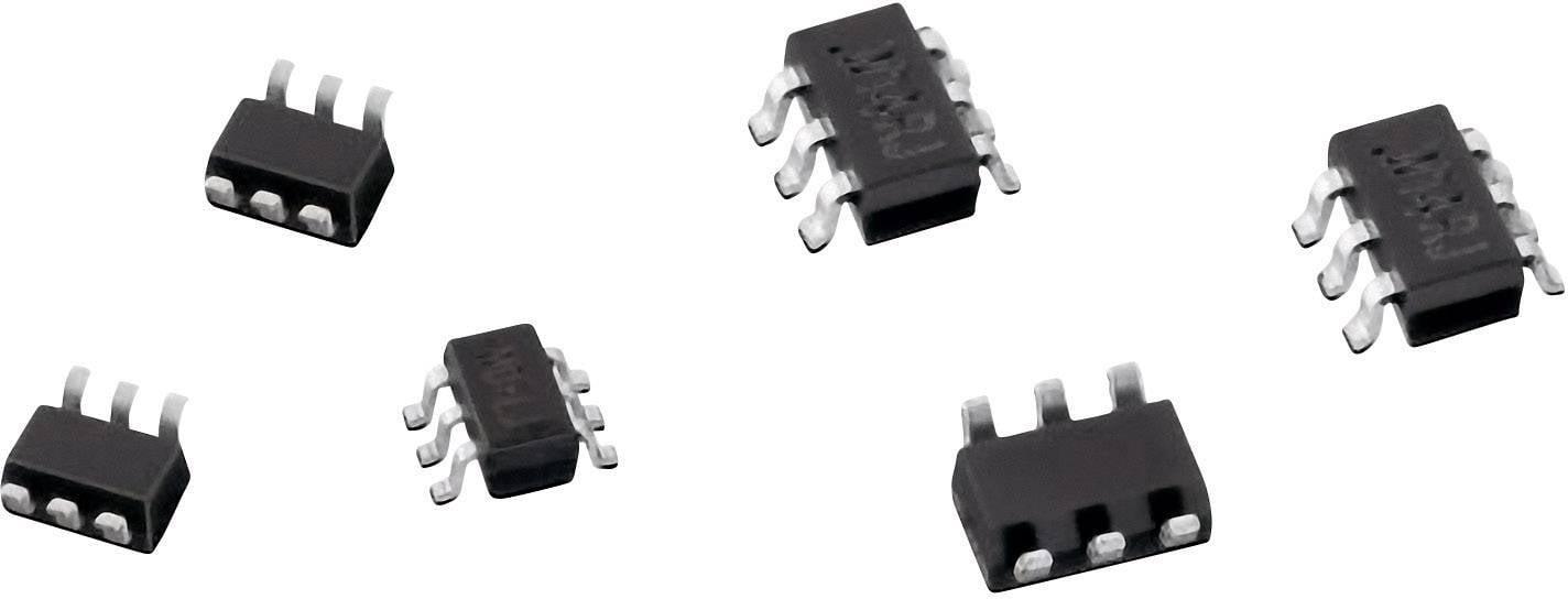 TVS dióda Würth Elektronik 824021, SOT-23-3L, 6.1 V
