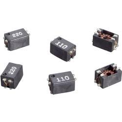 SMD odrušovací cívka Würth Elektronik SLM 744242220, 22 µH, 0,3 A, 80 V/DC, 42 V/AC