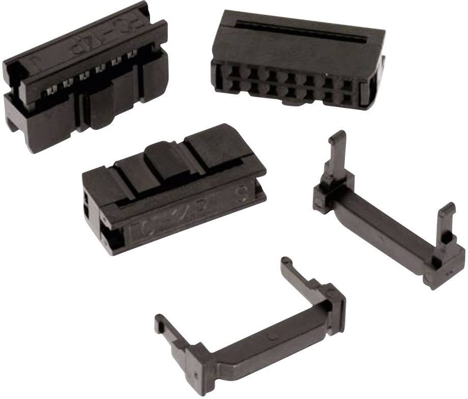 Zásuvková lišta Würth Elektronik Rastr (rozteč): 2.54 mm, Počet pólů: 10, 1 ks