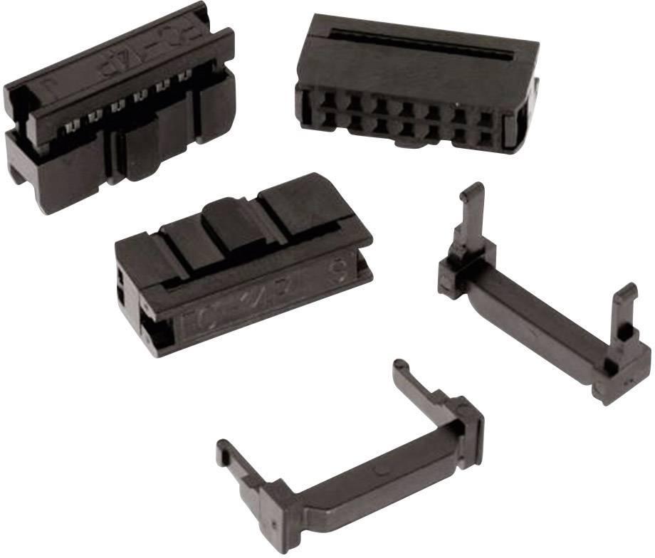 Zásuvková lišta Würth Elektronik Rastr (rozteč): 2.54 mm, Počet pólů: 20, 1 ks