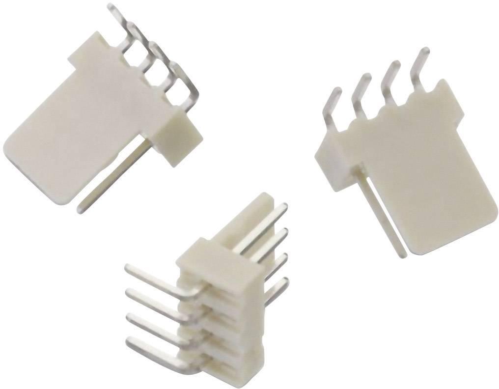 Vstavaná pinová lišta (štandardná) Würth Elektronik WR-WTB 61900411021, 13.10 mm, pólů 4, rozteč 2.54 mm, 1 ks
