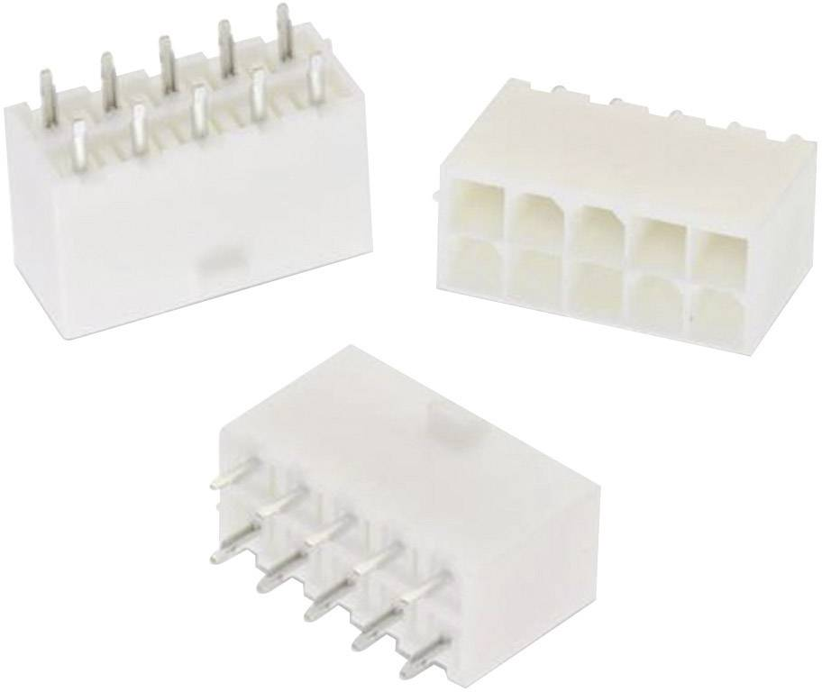 Vstavaná zásuvková lišta (štandardná) Würth Elektronik WR-MPC4 64900821122, 18.10 mm, pólů 8, rozteč 4.20 mm, 1 ks