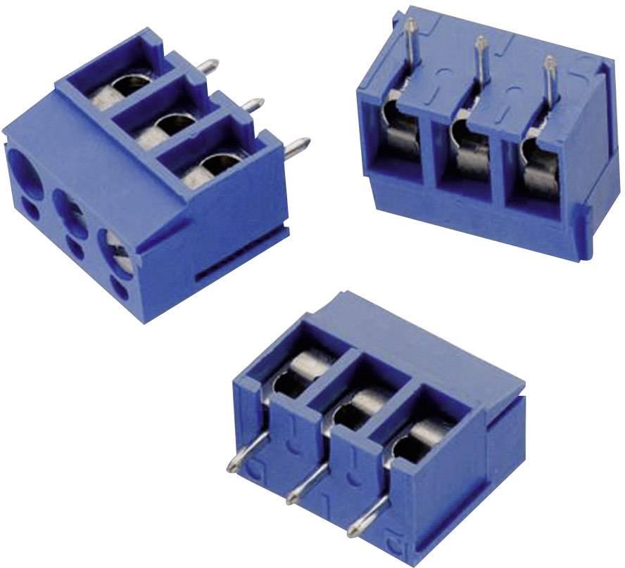 Svorkovnice Würth Elektronik 691101710003, 250 V, AWG 26-14, 5 mm, modrá
