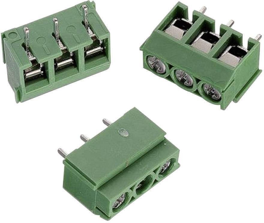 Svorkovnice Würth Elektronik 691111710002, 300 V, AWG 26-14, 5 mm, zelená