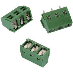 Skrutkovacia svorka Würth Elektronik WR-TBL 213 691213710003, 1.31 mm², Počet pinov 3, zelená, 1 ks