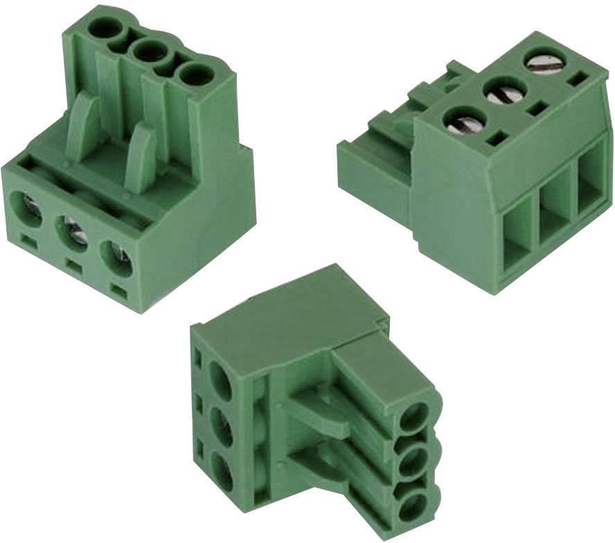 Svorkovnice Würth Elektronik 691351500004, 300 V, 5,08 mm, zelená