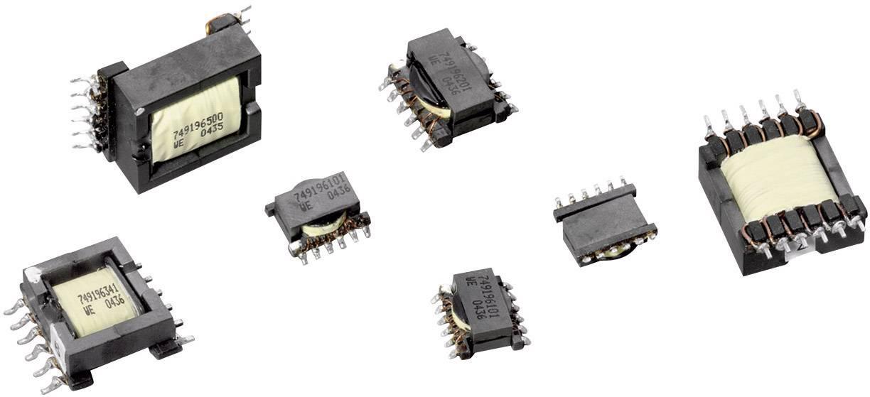 Flexibilný transformátor pre DC/DC meniče WE-Flex EFD20, 0.03 Ω, 749196510