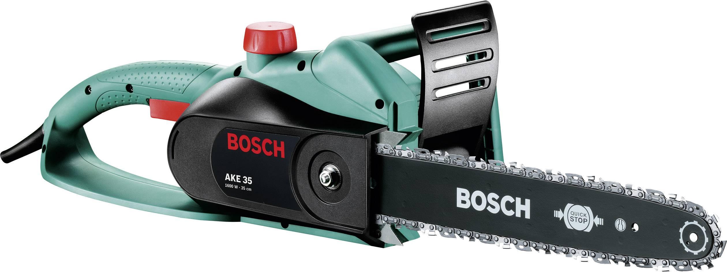 Elektrický/á reťazová píla Bosch Home and Garden AKE 35, dĺžka čepele 350 mm