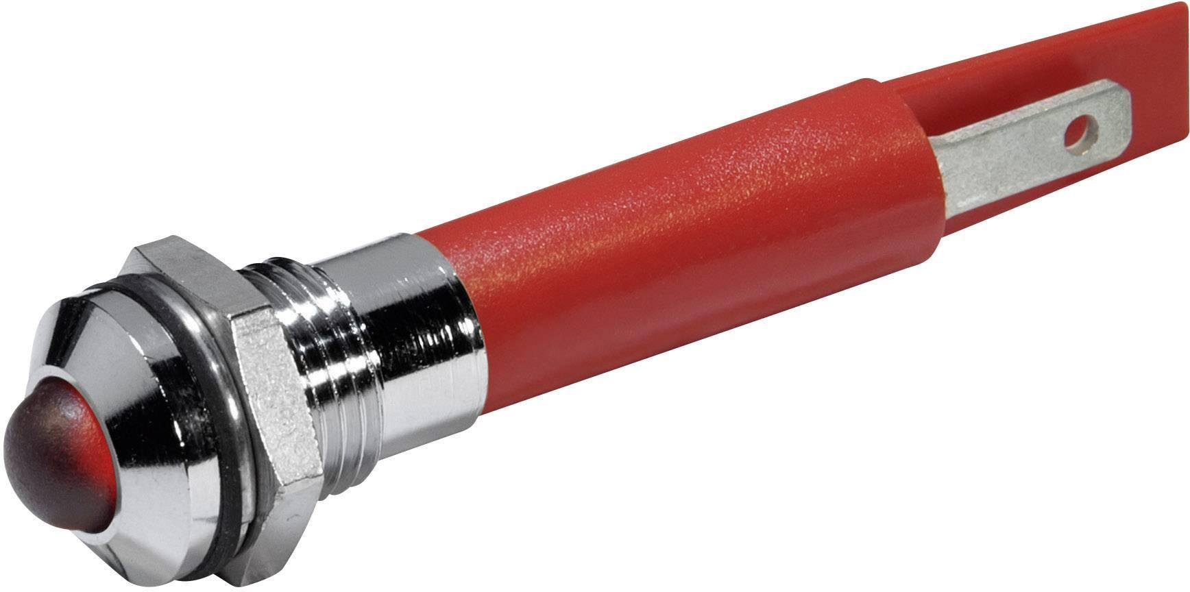 IndikačnéLED CML 19510430, 230 V/AC, červená
