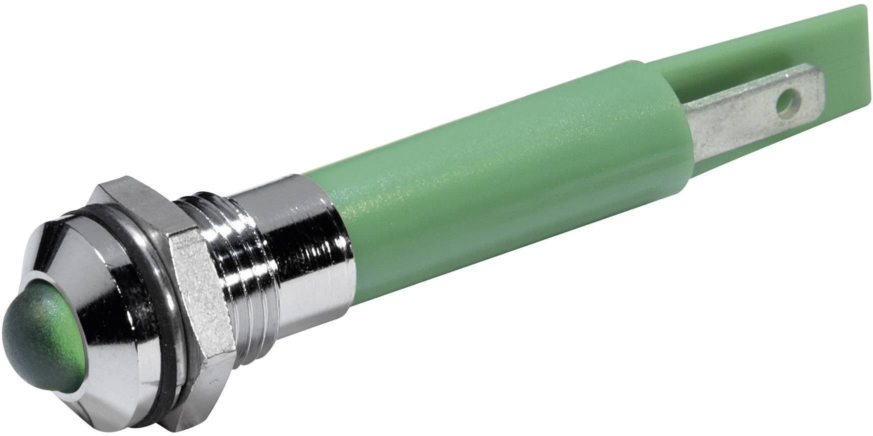 LED signálka CML 19510431, IP67, 230 V/AC, zelená