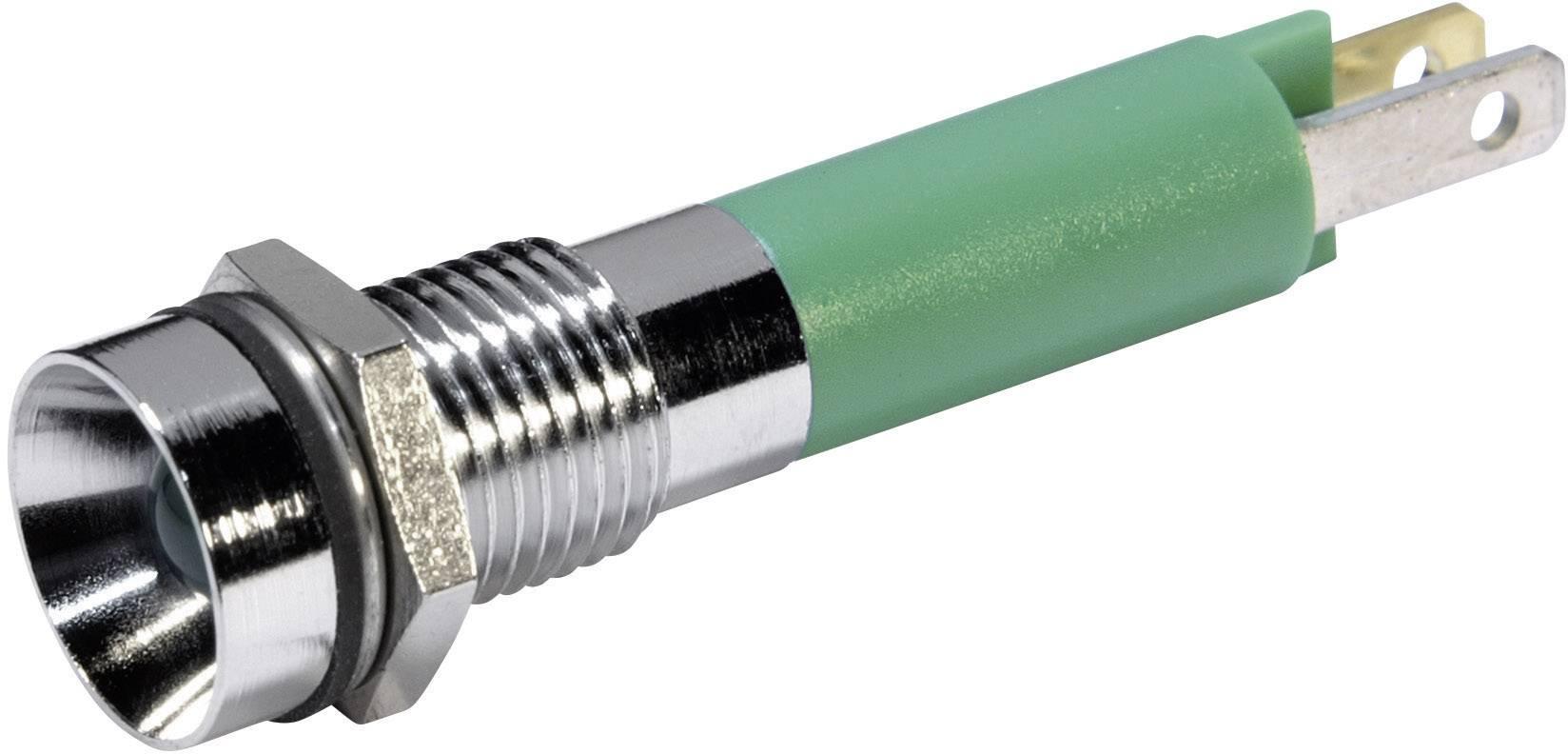 IndikačnéLED CML 19050251, 12 V/DC, zelená