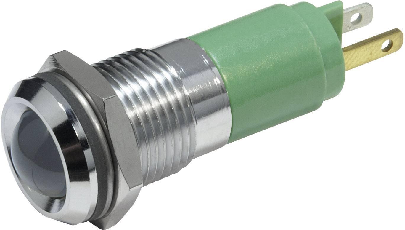 IndikačnéLED CML 19350235, 230 V/AC, ultra zelená