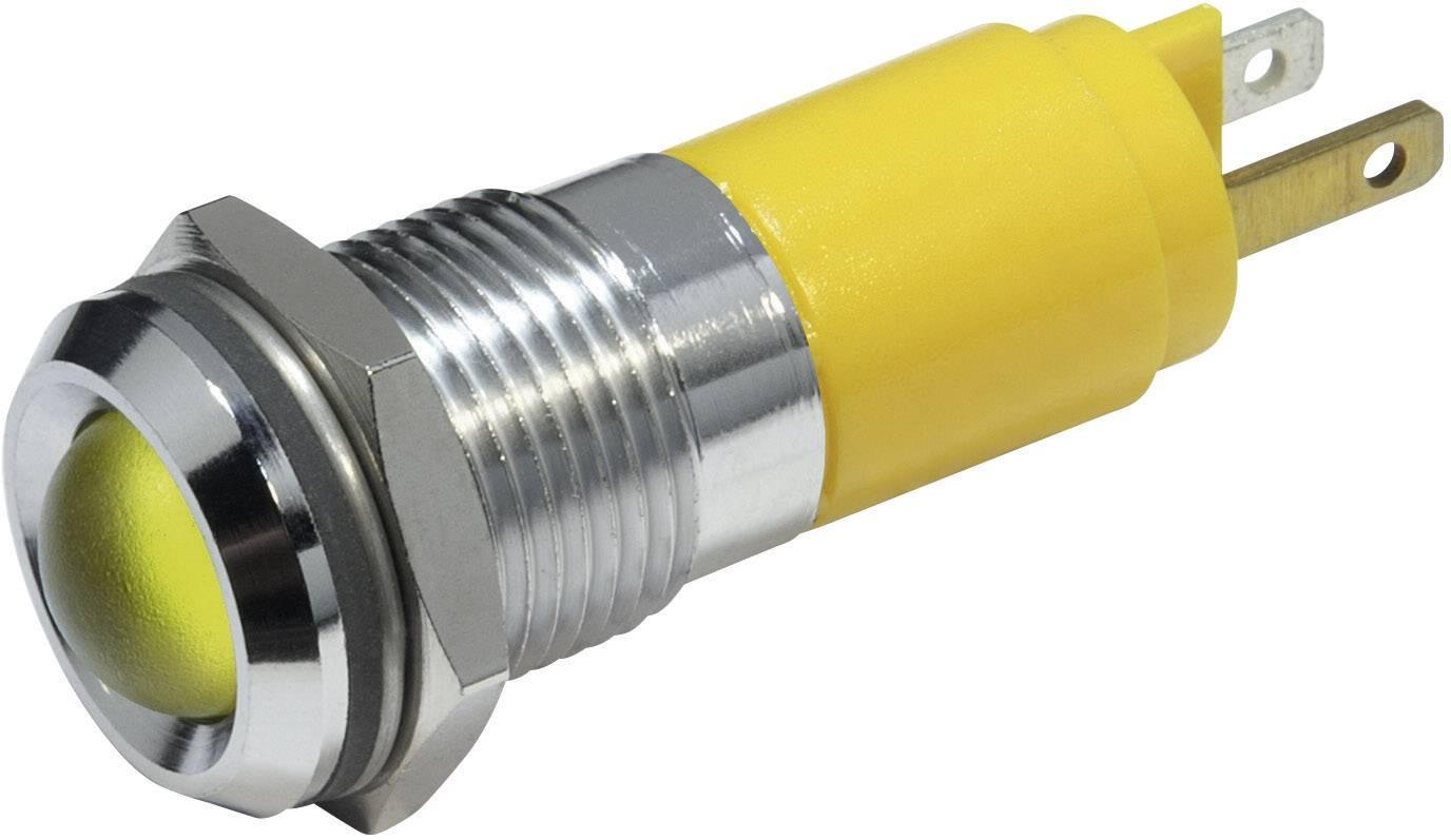 IndikačnéLED CML 19350233, 230 V/AC, žltá