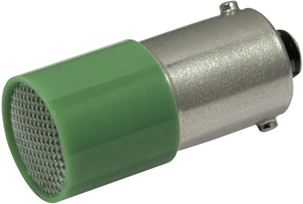 LED žárovka BA9s CML, 18824121, 110 V, 1,6 lm, zelená