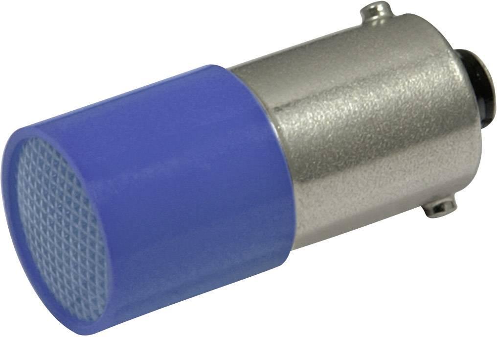 LED žárovka BA9s CML, 18824A37, 72 V, 0,2 lm, modrá