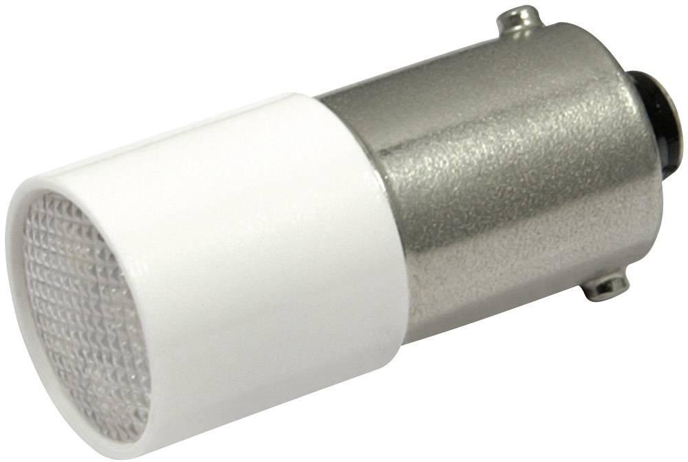 LEDžiarovka CML 1882412W, BA9s, 110 V/DC, 110 V/AC, 1.4 lm, chladná biela
