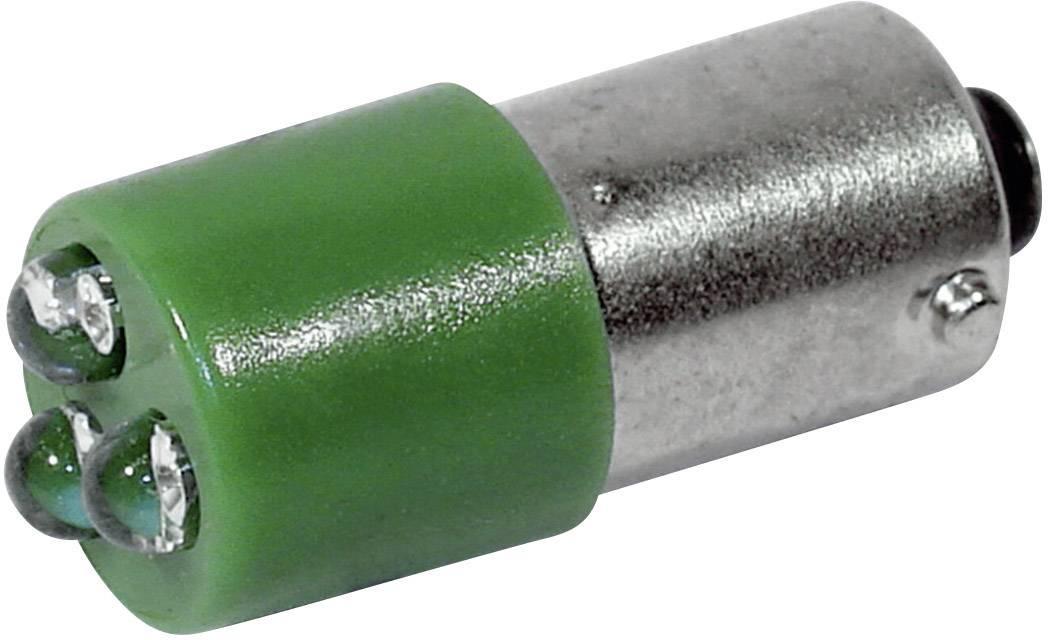 LED žárovka BA9s CML, 18626231, 230 V, 450 mcd, zelená
