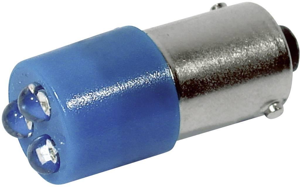 LEDžiarovka CML 18620357, BA9s, 24 V/DC, 24 V/AC, 780 mcd, modrá