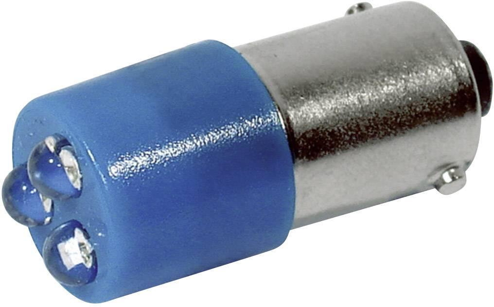 LED žárovka BA9s CML, 18626237, 230 V, 200 mcd, modrá