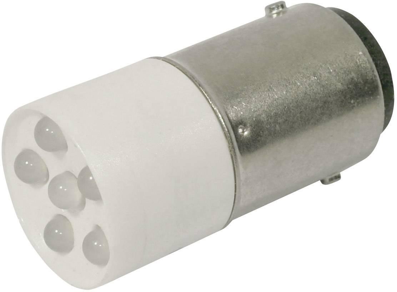 LEDžiarovka CML 1864035W3, BA15d, 24 V/DC, 24 V/AC, 2400 mcd, chladná biela