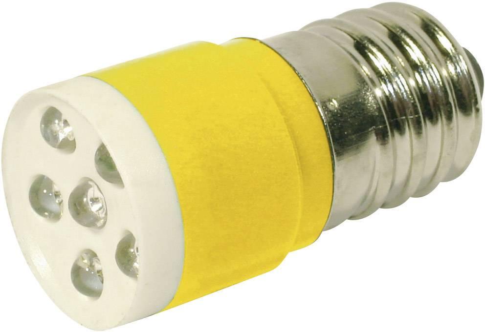 LEDžiarovka CML 18646352C, E14, 24 V/DC, 24 V/AC, 1050 mcd, žltá