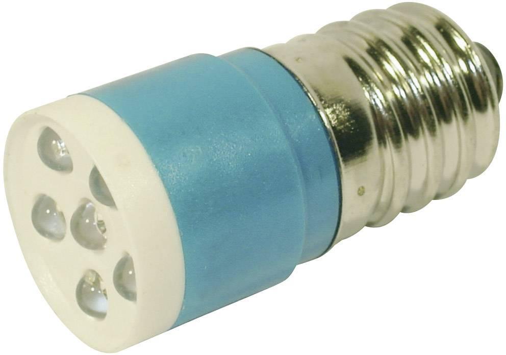 LEDžiarovka CML 18646357, E14, 24 V/DC, 24 V/AC, 860 mcd, modrá
