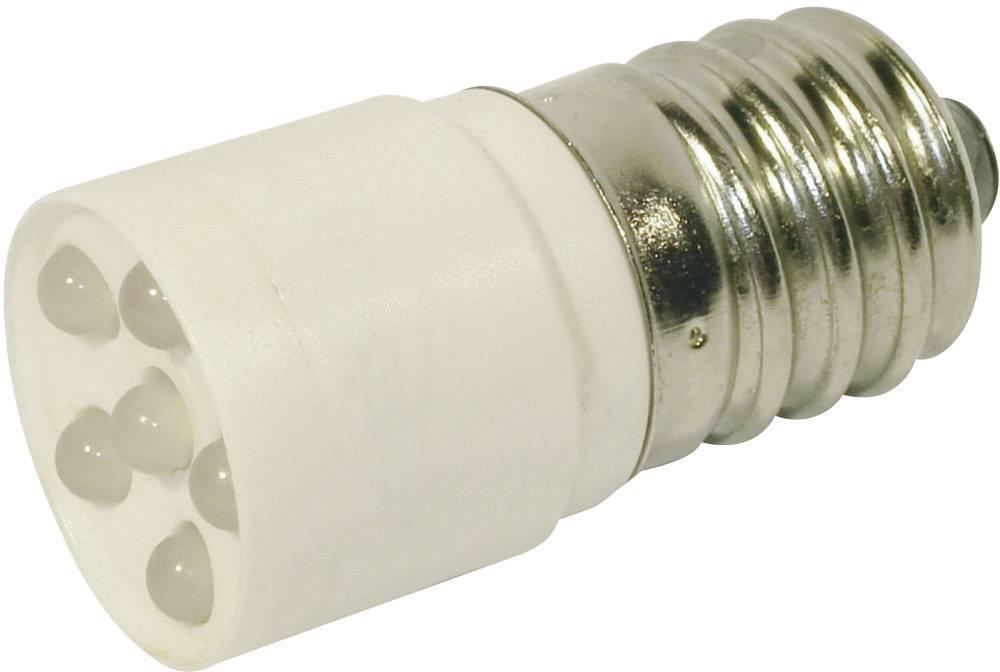 LEDžiarovka CML 1864635W3D, E14, 24 V/DC, 24 V/AC, 1200 mcd, chladná biela