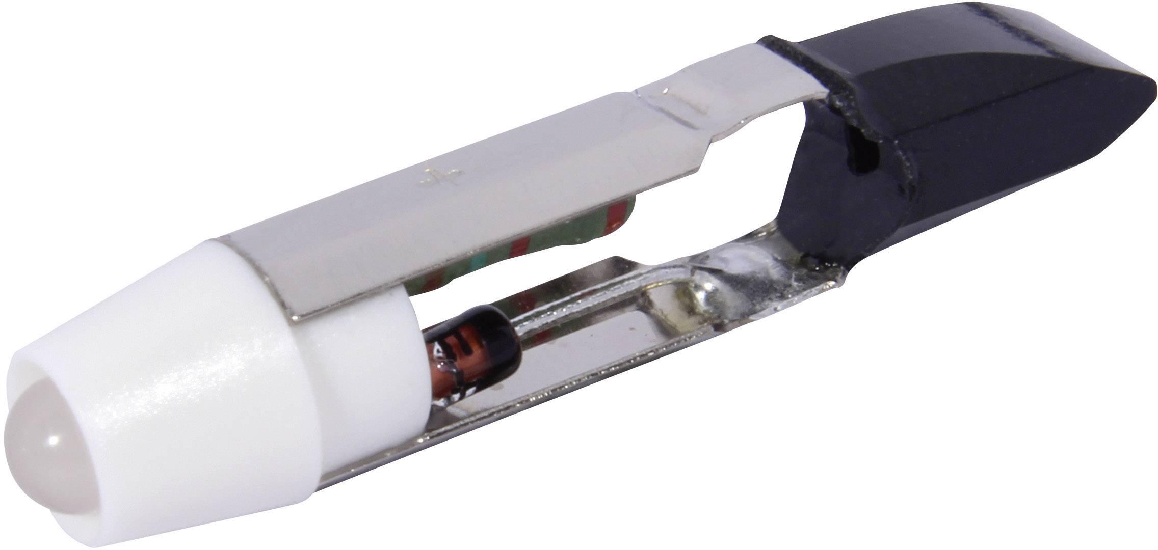 LEDžiarovka CML 1505125W3D, T5.5, 12 V/DC, 12 V/AC, 900 mcd, chladná biela