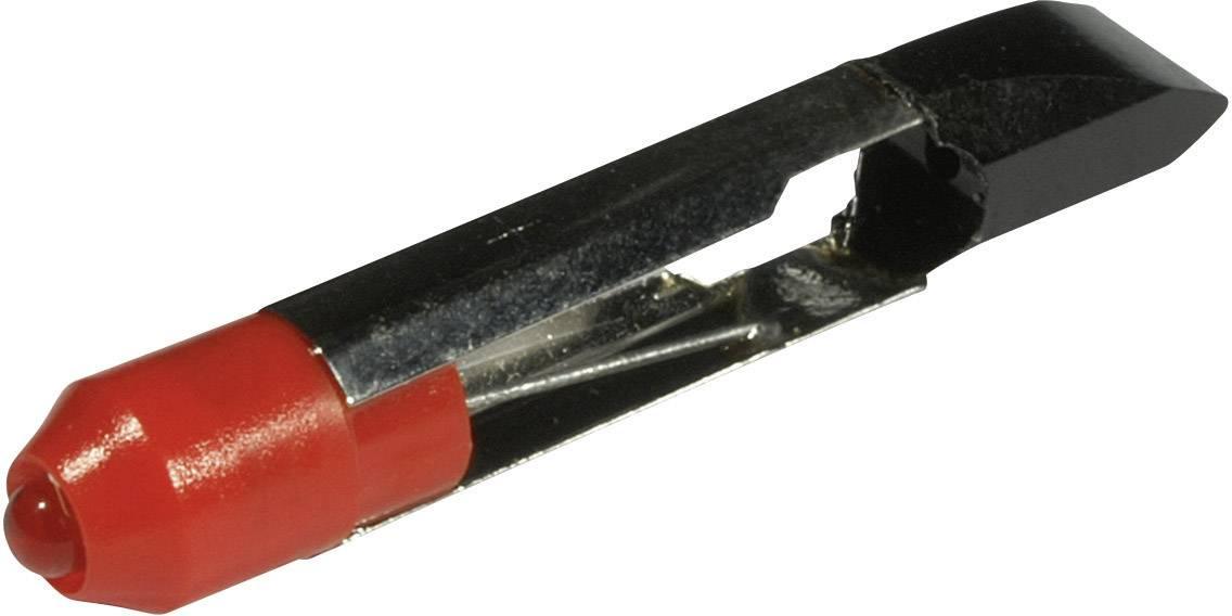 LED žárovka T6.8 CML, 1507525R3, 12 V, 400 mcd, červená