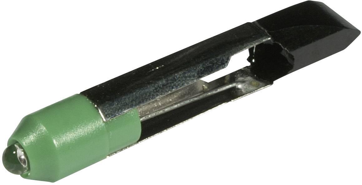 LED žárovka T6.8 CML, 1507525G3, 12 V, 2550 mcd, zelená