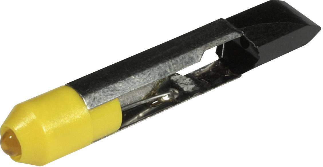 LEDžiarovka CML 1507535Y3, T 6.8, 24 V/DC, 24 V/AC, 340 mcd, žltá