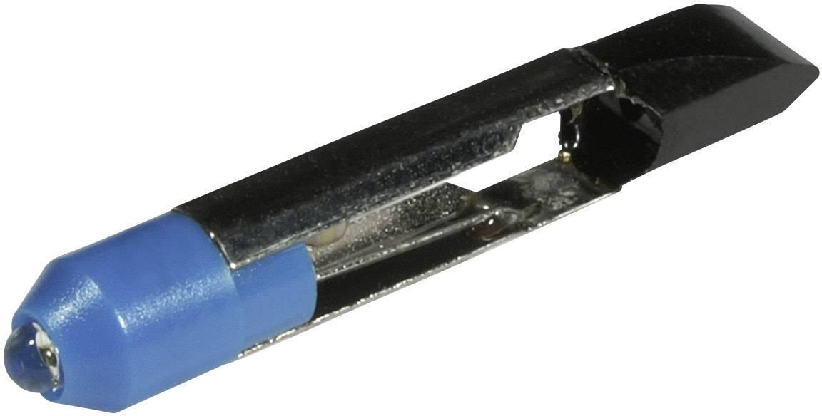 LEDžiarovka CML 1507525B3, T 6.8, 12 V/DC, 12 V/AC, 780 mcd, modrá